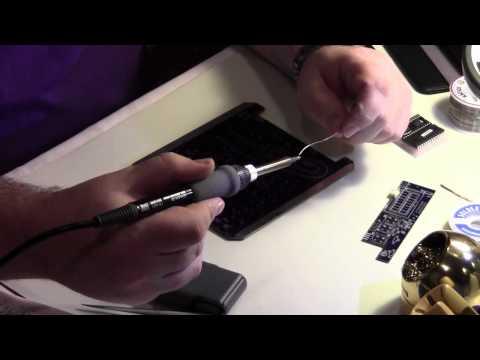 DIY video for assembling the Ramsey FM30B stereo FM transmitter