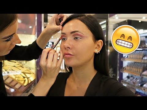 GETTING MY MAKEUP DONE AT URBAN DECAY  | ItsSabrina thumbnail