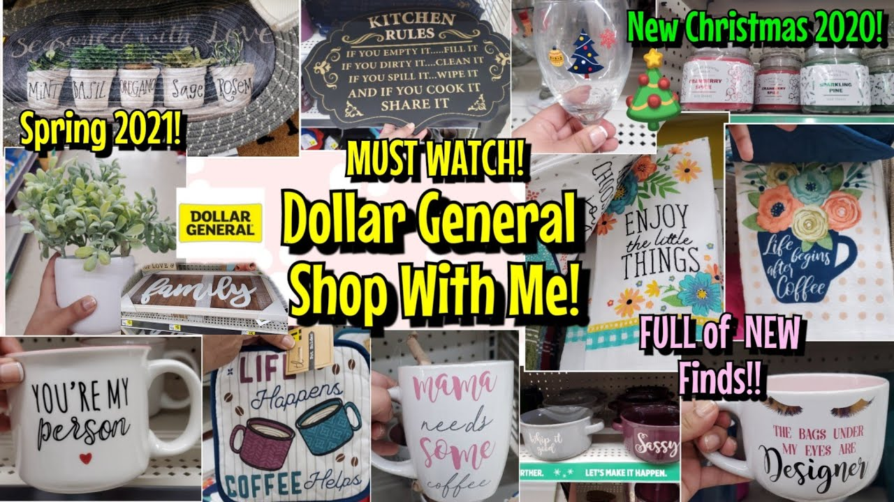 Is Dollar General Open On Christmas 2021 New Dollar General Shop With Me Christmas 2020 Spring 2021 Valentines Day 2021 Youtube