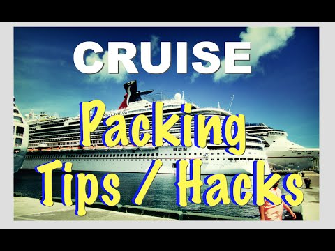 First time CRUISE vacation packing tips & hacks YOU MUST KNOW!