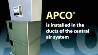 APCO Pure Air UV, Germicidal UV Light Disinfection Systems, Indoor Air Quality Products