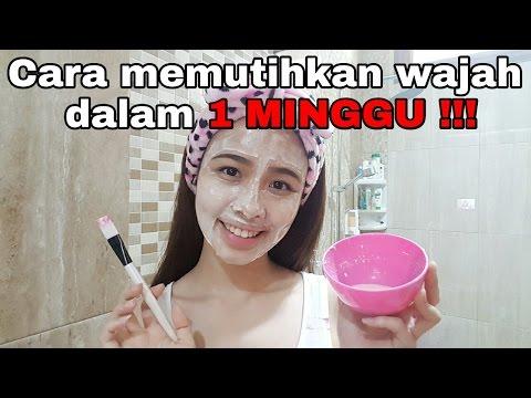 Cara memutihkan wajah dalam 1 MINGGU !!!   Savira Millenita