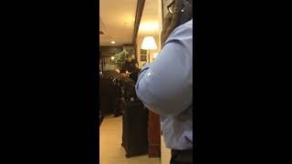 Cop fights Black Man