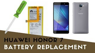 Huawei HONOR 7 - How to replace BATTERY by CrocFIX