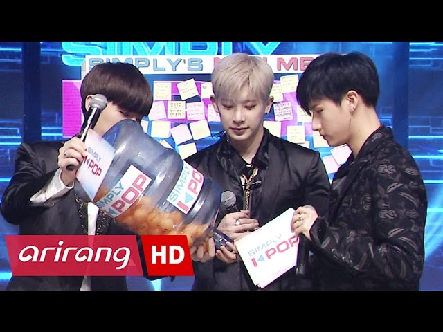 [Simply K-Pop] MONSTA X(몬스타엑스) _ SIMPLY'S MINI MEET _ Ep.259 _ 040717