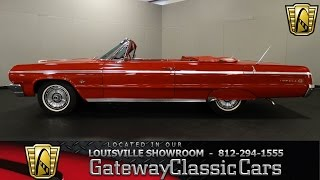 1964 Chevrlet Impala SS Convertible -  Louisville Showroom - Stock # 1323