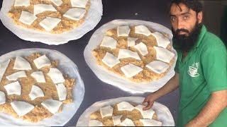 Insane Paratha   Aloo Anday wala Cheese Paratha   POTATO + EGG + CHEESE   Street Food Pakistan