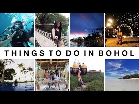 5 THINGS TO DO IN BOHOL, PHILIPPINES