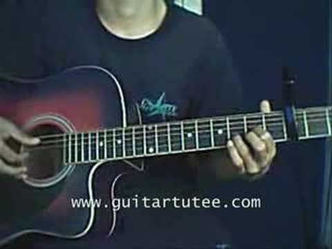 Wish You Were Of Kate Voegele By Guitartutee Youtube