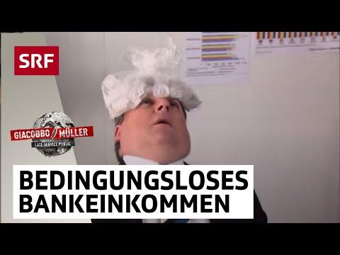 Bedingungsloses Bankeinkommen – Giacobbo / Müller