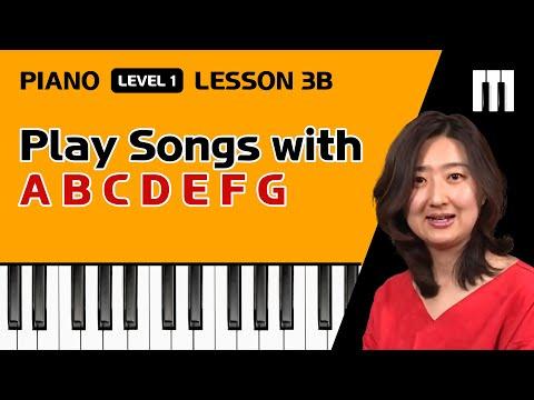 Piano Tutorial Less 3BPlay sgs  A B C D E F G