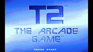 Game | Mega Drive Longplay 143 T2 The Arcade Game | Mega Drive Longplay 143 T2 The Arcade Game