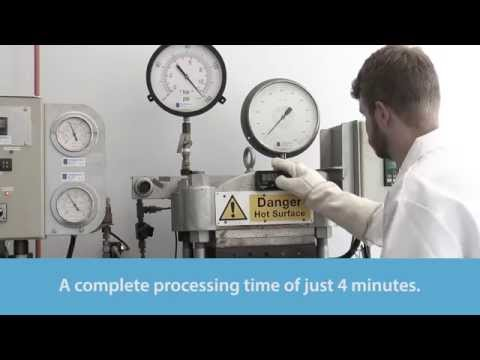 PRF's RP-570 Snap Cure prepreg - with a complete processing time of just 4 minutes