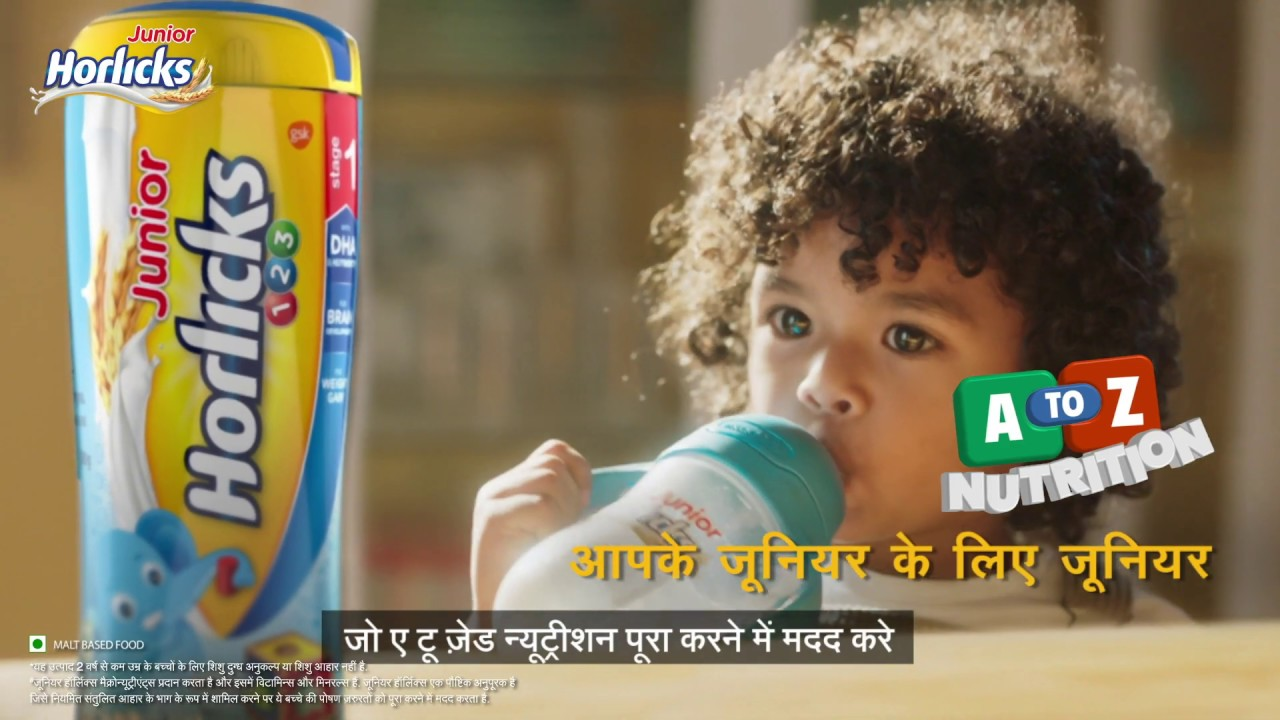 A To Z Nutrition With Junior Horlicks Youtube