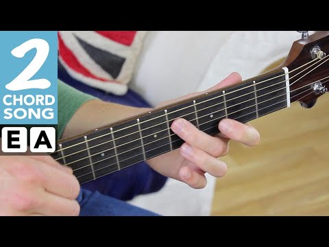 EASY 2 Chord Song #6  SATISFACTION Rolling Stones Play TEN Guitar Songs With Two EASY Chords