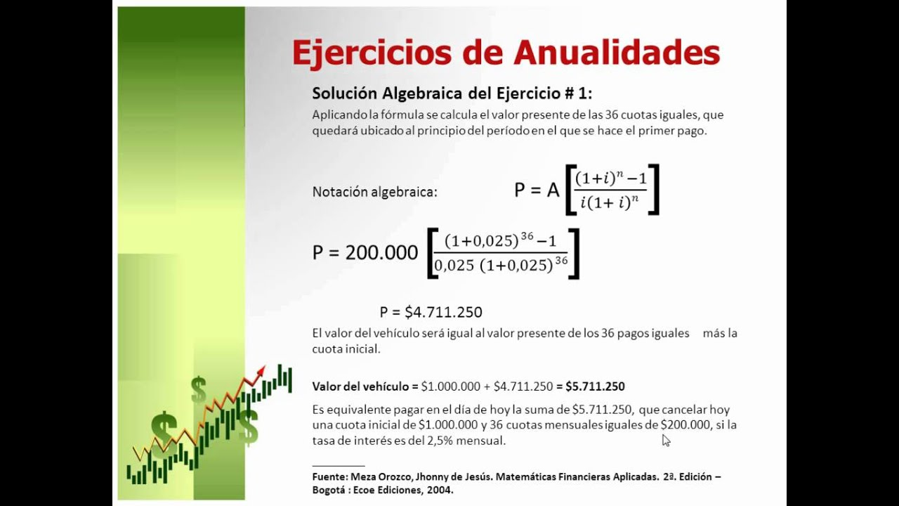 matematicas financieras ejercicios pdf