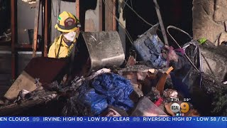 Fire Guts Party Supply Store In Orange Overnight