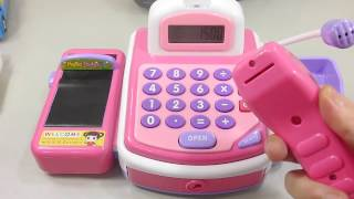 Кассовый аппарат. Как это работает? Развивающие мультики и обучающие видео обзоры детских игрушек(Кассовый аппарат. Как это работает? Развивающие мультики и обучающие видео обзоры детских игрушек. Вам..., 2017-02-13T16:12:54.000Z)