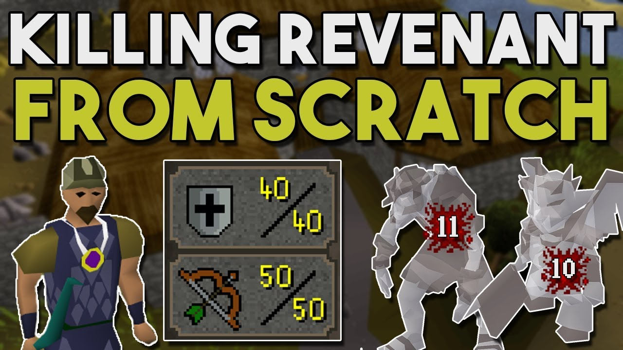 How to Build A Low Level Revenant Killing Account from Scratch! - Low Level  Rev Account Build [OSRS]