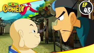 Little Buddha- S1EP43   Hindi Cartoon Show   Funny Videos For Kids   Wow Kidz Comedy