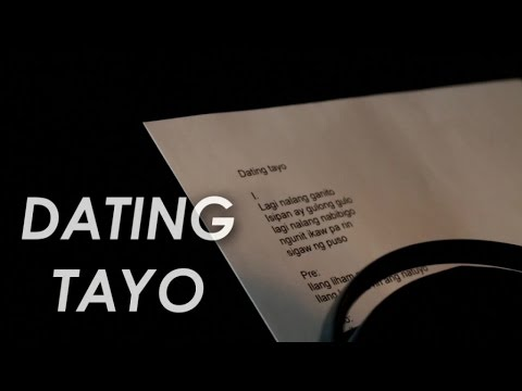 TJ Monterde - Dating Tayo (Lyric Video)