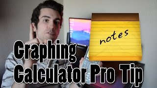 Graphing Calculator Pro Tip: Note Transfer
