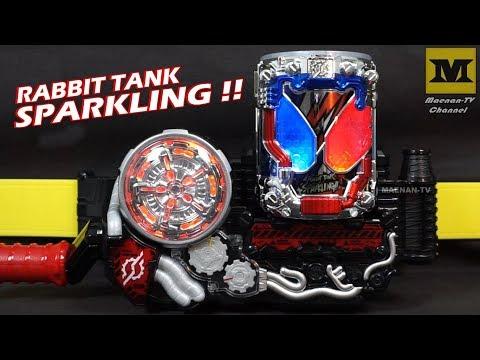 DX Kamen Rider Build : DX RABBIT TANK SPARKLING Fullbottle !! (DX Build Driver)
