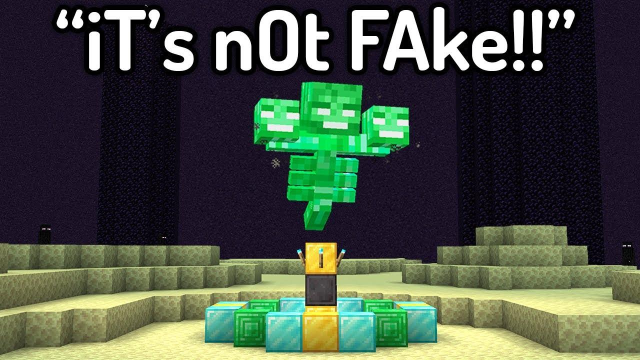 Download The Most HILARIOUS FAKE Minecraft Speedruns EVER