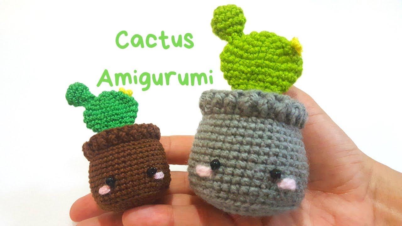 Amigurumi Knitting Cactus cactus weaving in crochet (amigurumi ... | 720x1280