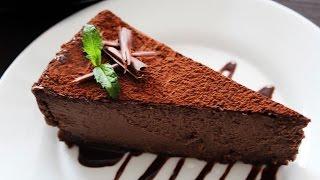 Австралийский шоколадный чизкейк с творогом