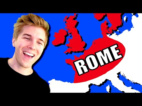 What If The Roman Empire Started In The UK?! (Imperator Rome)