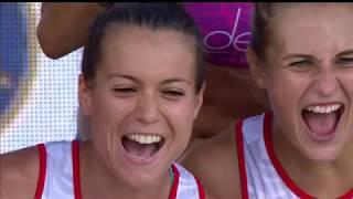 Лучшие моменты матча Россия - Соединенные Штаты Америки пляжного Чемпионата мира в Казани
