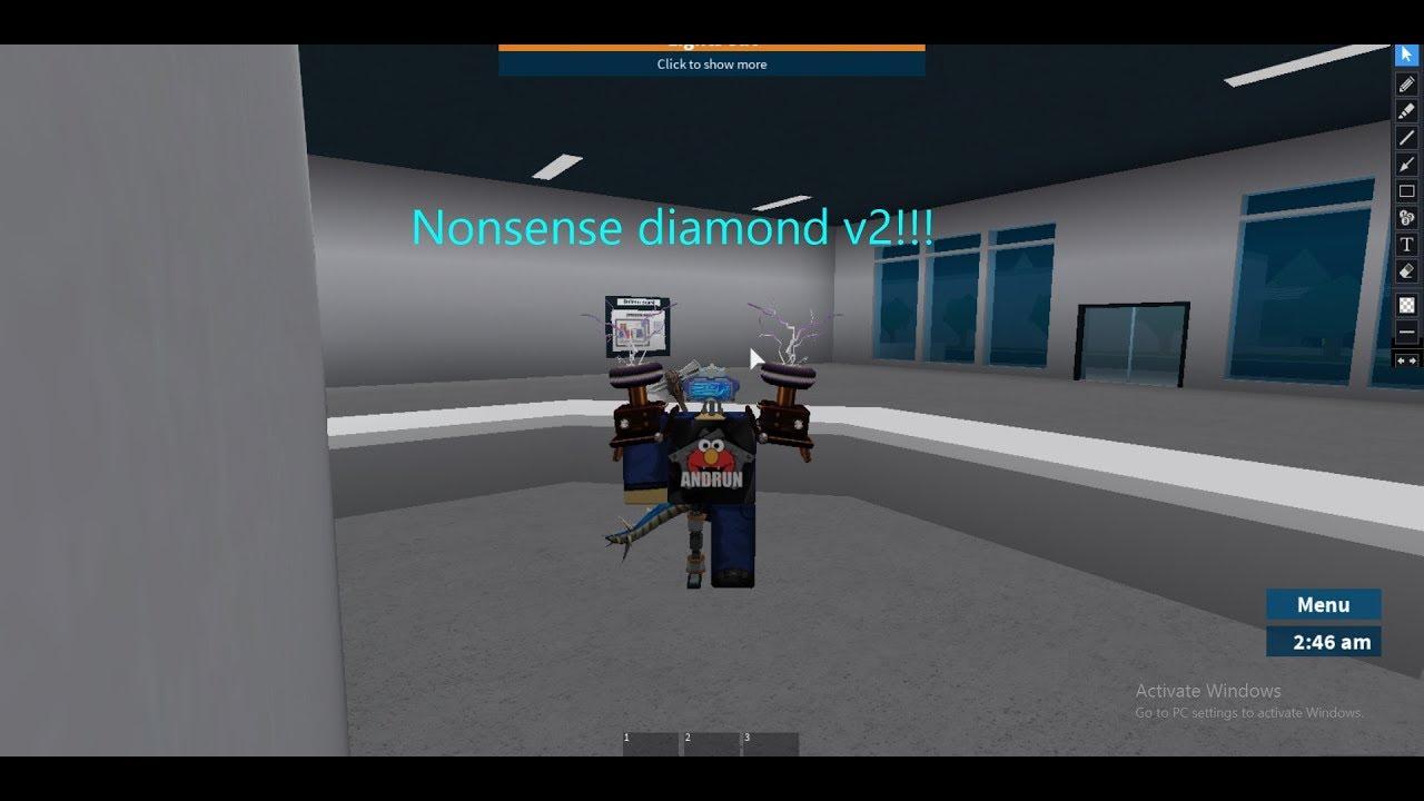 Roblox Prison Life Hacking With Nonsense Diamond V2 Youtube