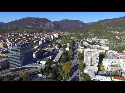 NOVA GORICA dron posnetki - jeseni 2017