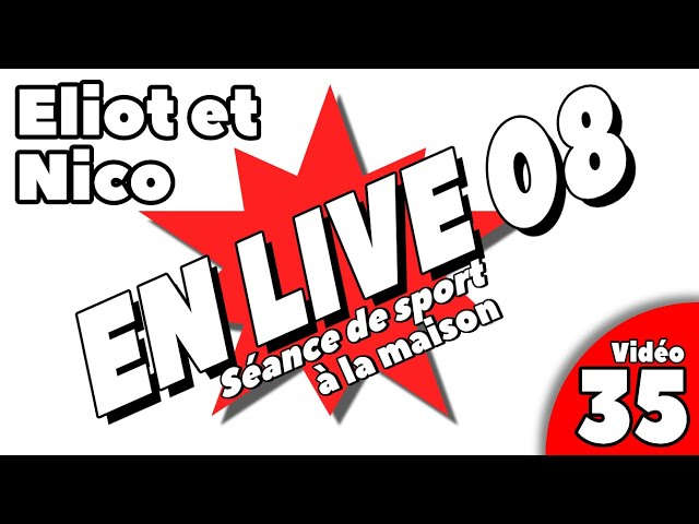 sport à la maison / SEANCE LIVE 8 / Vidéo 35