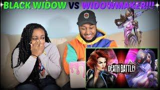 """Death Battle! """"Black Widow VS Widowmaker DEATH BATTLE!"""" REACTION!!!"""