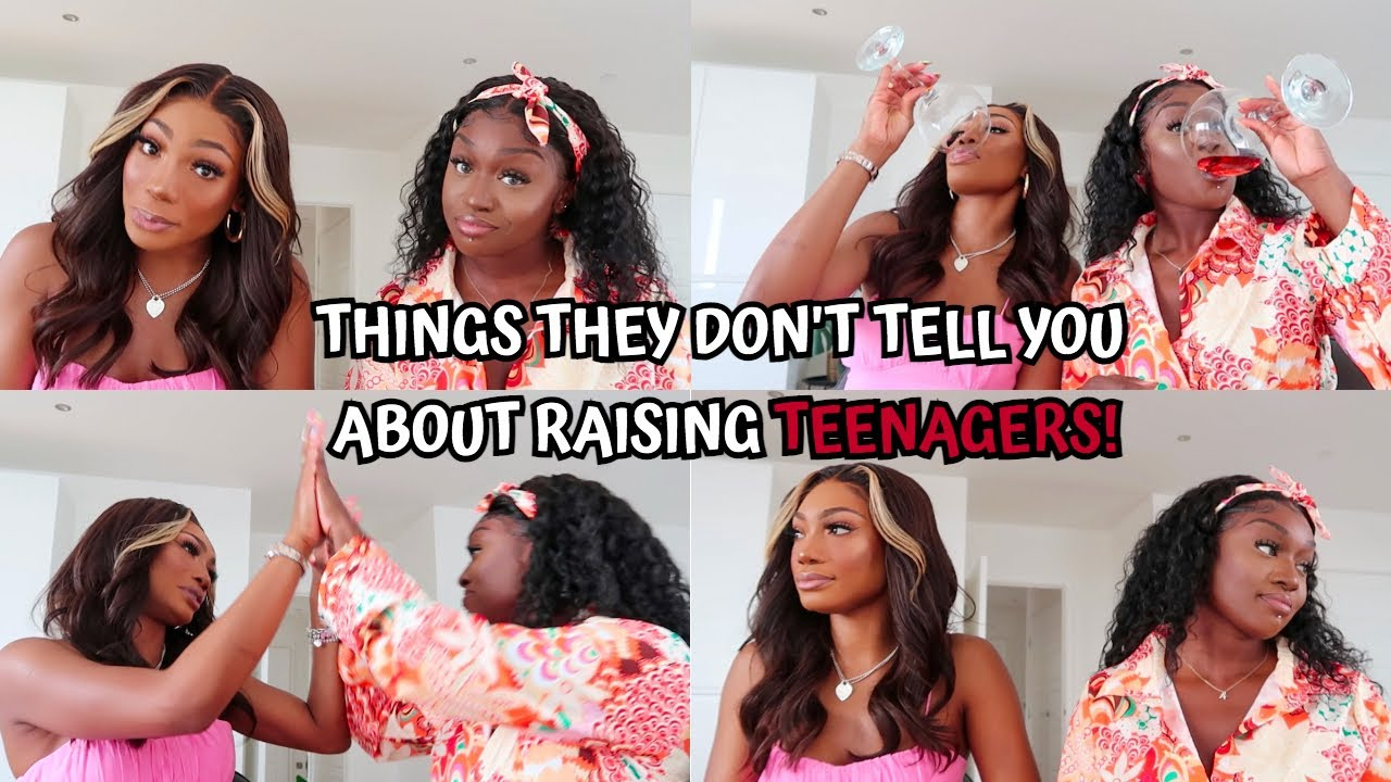 THINGS THEY DON'T TELL YOU ABOUT RAISING TEENAGERS! Spilling all our motherhood & parenting tea!