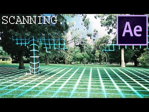 3D SCAN VFX - Adobe After Effects Tutorial