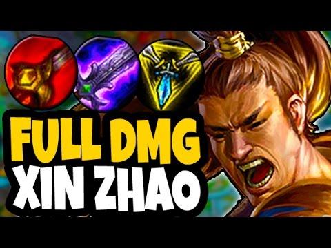 Xin Jungler Build