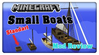 Small Boats Mod || Minecraft Mod Review [Deutsch]