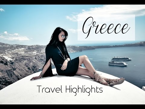 Greece Travel Highlights | Athens Mykonos Santorini | SHRADS