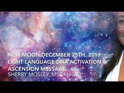 New Moon Solar Eclipse December 25th, 2019 Light Language DNA Activation & Ascension Message