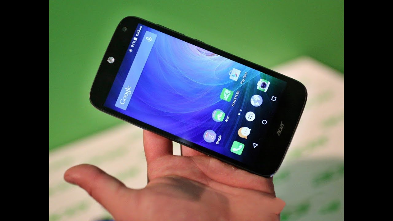 Acer Liquid Z330 Hands On