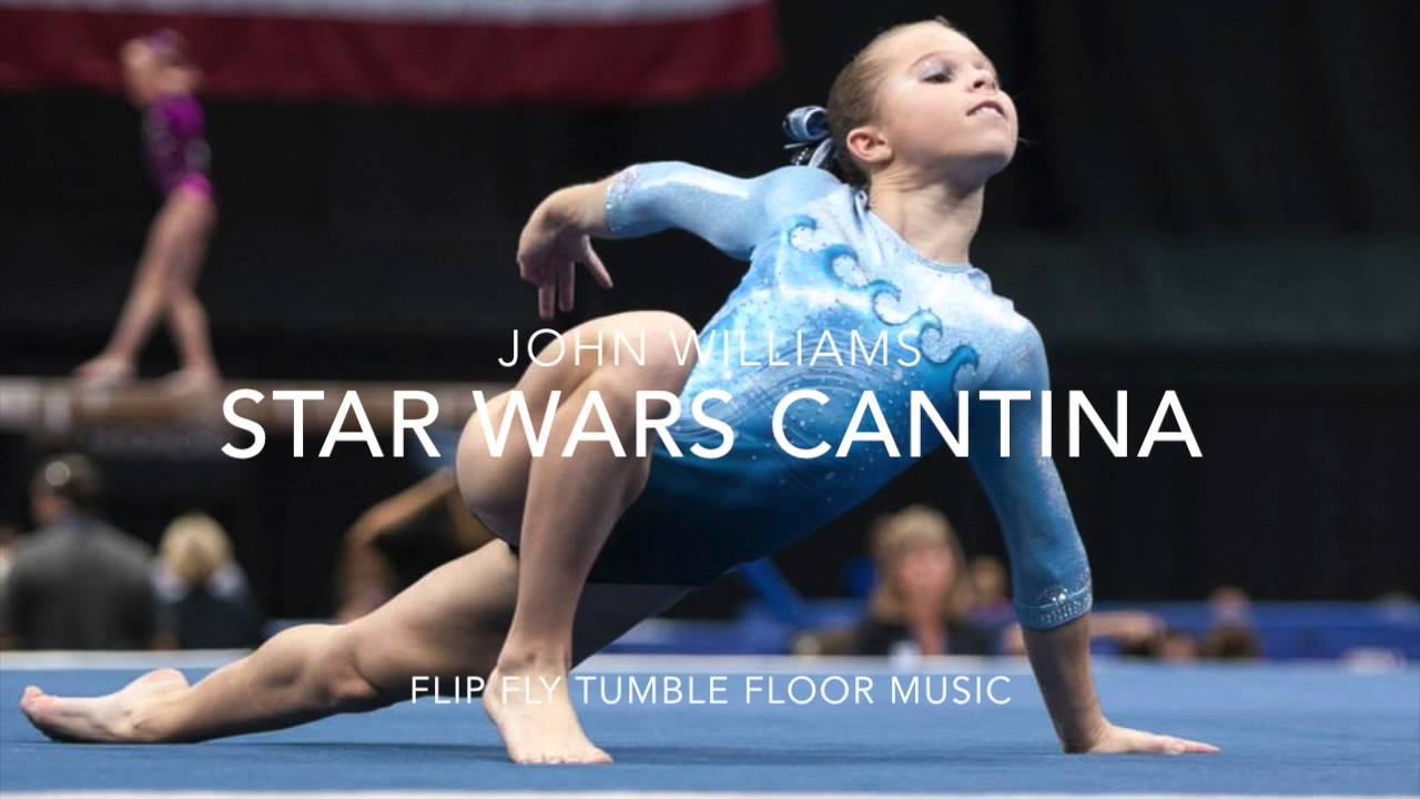 Star Wars Cantina Gymnastics Floor Music (Cute Upbeat)