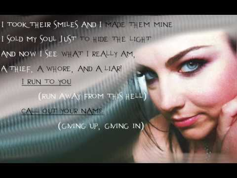 Farther Away by Evanescence with Lyrics