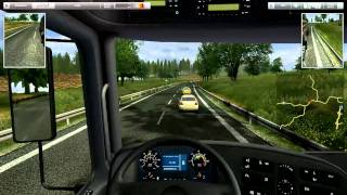 German Truck Simulator Gameplay First Job HD