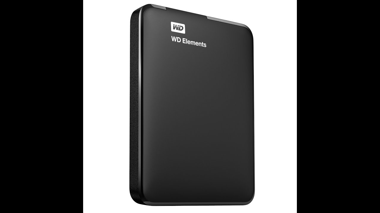 disco duro externo wd elements 1tb unboxing review en