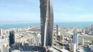 Al Hamra Tower Timelapse