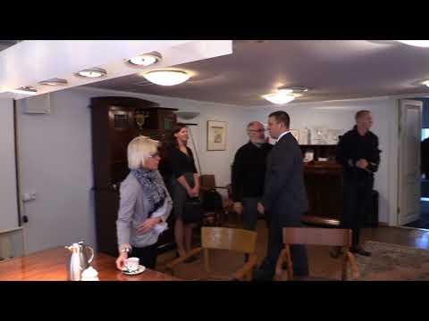 Jüri Ratas külastas Tallinna Linnateatrit