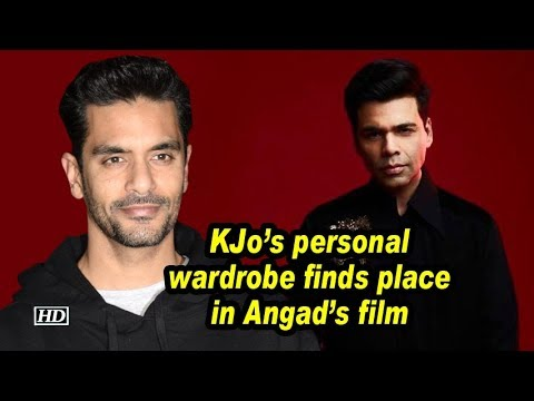 KJo's personal wardrobe finds place in Angad's film Mp3